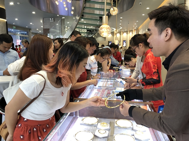 Gold demand up sharply in HCM City in July