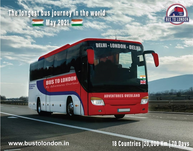 20000 km 18 countries: All aboard the Delhi to London bus
