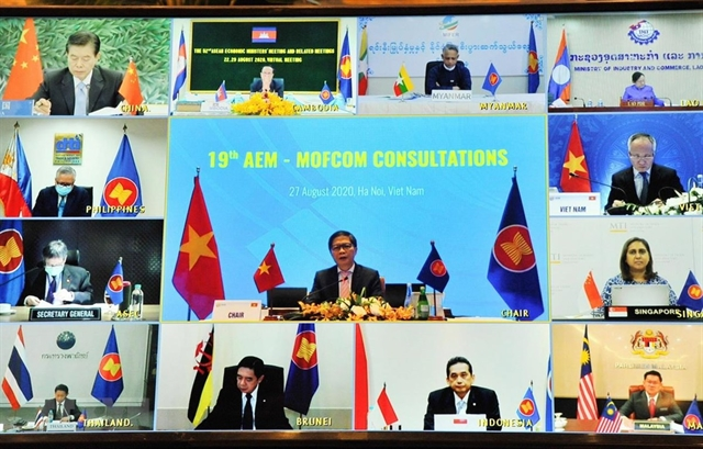 ASEAN China boost trade links