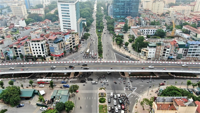New major overpass opens to traffic in Hà Nội