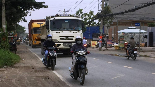 Congested dangerous HCM City street to be widened