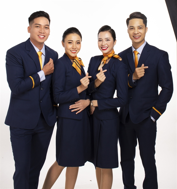 Pacific Airlines launches flight attendant uniform and new brand identity