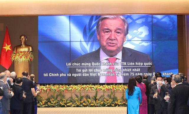 UN Secretary General congratulates Việt Nam on National Day