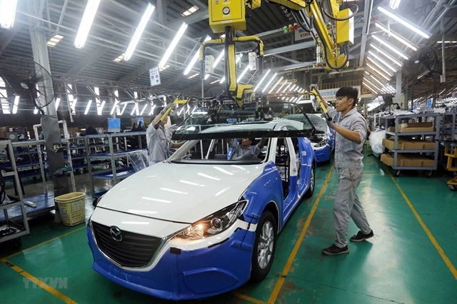 Policies encourage automakers to assemble cars in VN