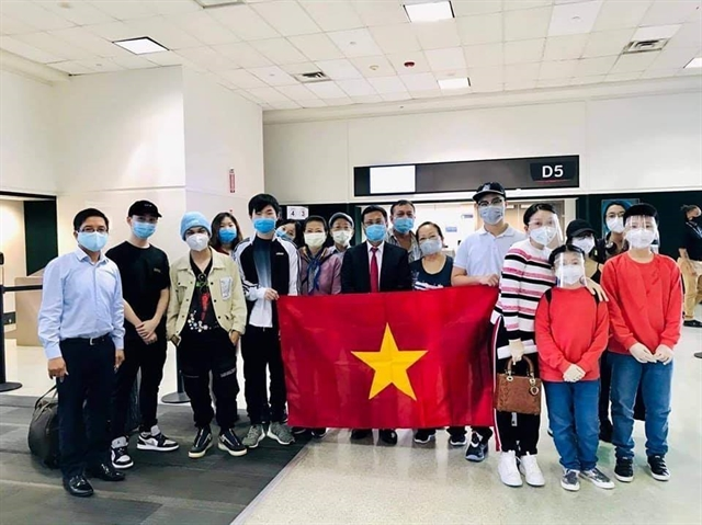 570 Vietnamese citizens repatriated from Japan US