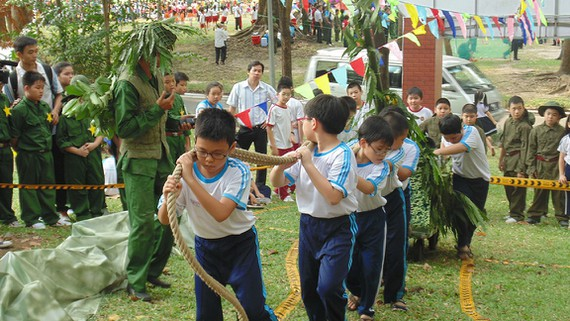 HCM City suspends summer activities for children