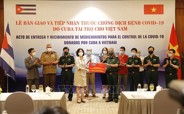 Việt Nam receives medicine from Cuba to fight COVID-19