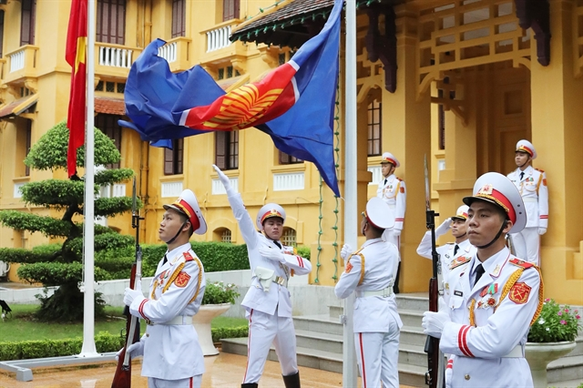 Việt Nam holds flag-raising ceremony to mark ASEAN 53rd anniversary