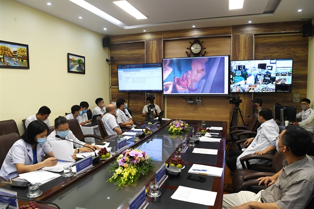 First online heart surgery operation implemented via Viettel Telehealth