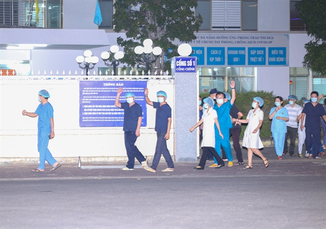 Lockdowned hospital in Đà Nẵng reopens after two weeks