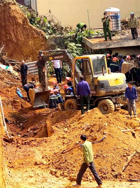 Four people die in construction site accident in Phú Thọ Province