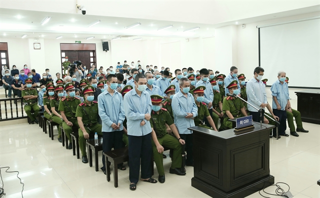 Two sentenced to death inĐồng Tâm trial