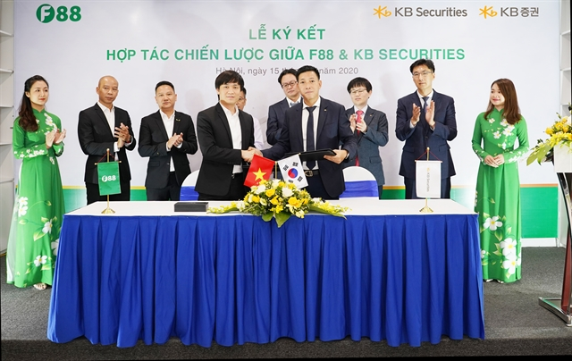 Strategic co-operation deal signed between F88 Business JSC KB Securities and KB Securities Vietnam