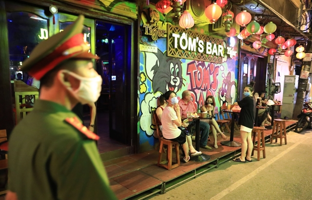 Hà Nội allows reopening of bars karaoke parlours and pedestrian streets