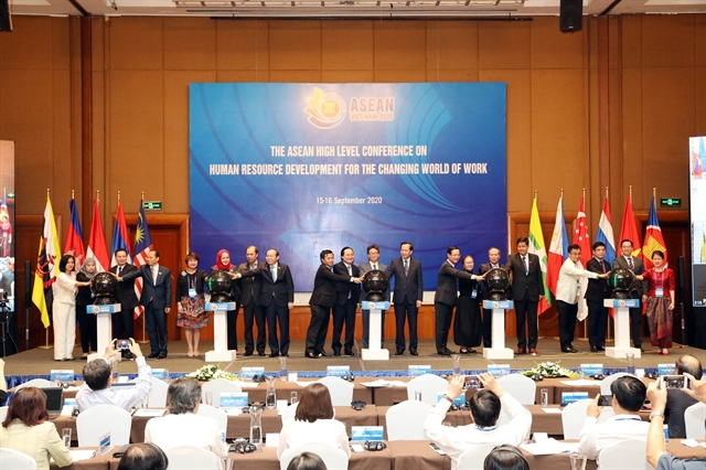 ASEAN prioritises human resource development putting people at its core