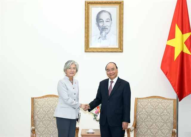 PM Phúc meets RoKs FM and ADB Vietnam chief