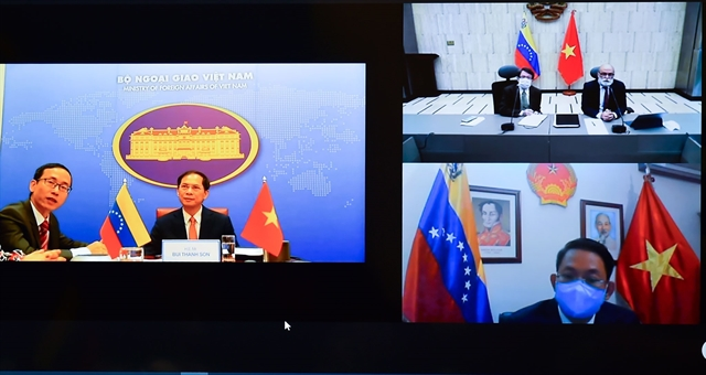 Việt Nam Venezuela hold eighth political consultation