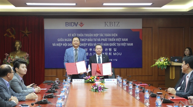 BIDV and KBIZ-VN promote co-operation