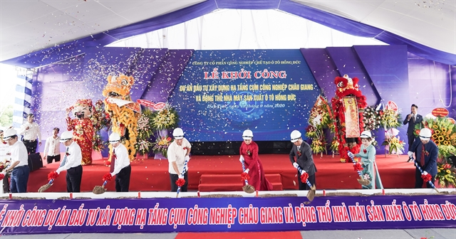 Work starts on industrial cluster automobile factory in Hà Nam