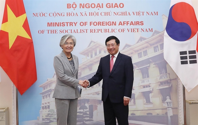 RoKs foreign minister proposes more commercial flights be resumed with Việt Nam