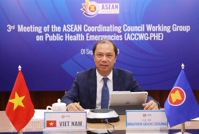 ASEAN senior officials discuss blocs external relations