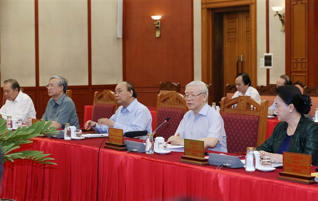 Hà Nội needs to set example in all fields: top leader