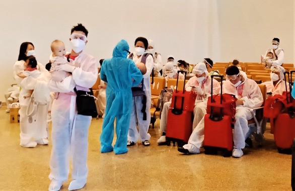 Babies head home on repatriation flights without parents