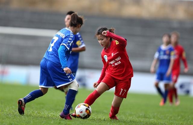 Phong Phú Hà Nam draw with Thái Nguyên TT in national womens football champs