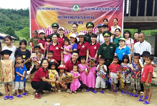 Bringing festive cheer to needy children