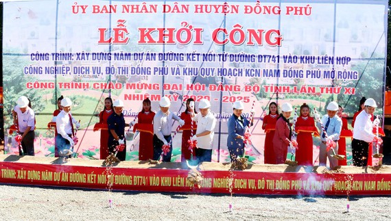 Bình Phước builds roads to connect to industrial parks