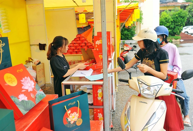 Moon cake market competition heats up