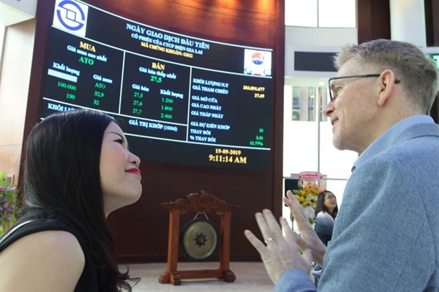 Trading accounts of foreign investors highest in 8 months