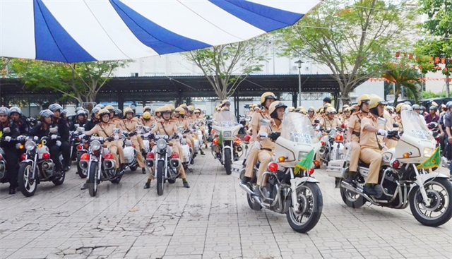 HCM City Police launch action month to ensure social order and safety