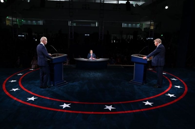 Trump and Biden go on the attack in fiery chaotic first presidential debate