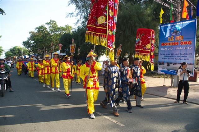 Cần Giờs Nghinh Ông Fest begins