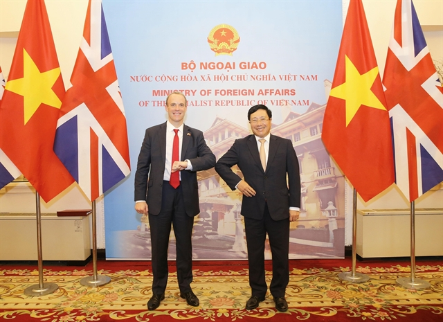 Vietnamese and UK foreign ministers agree to deepen strategic partnership