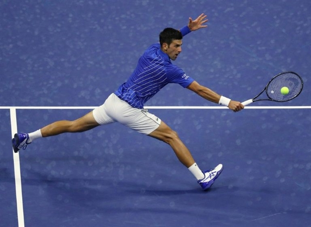 Djokovic through as Pliskova crashes out of US Open