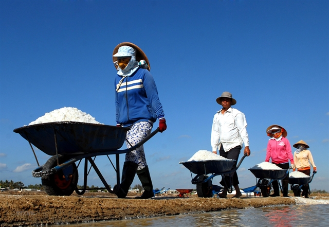 Salt production to be developed
