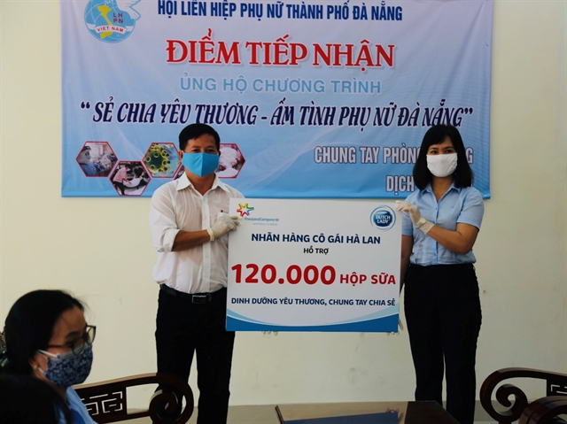 Dutch Lady joins Đà Nẵng fight against COVID-19