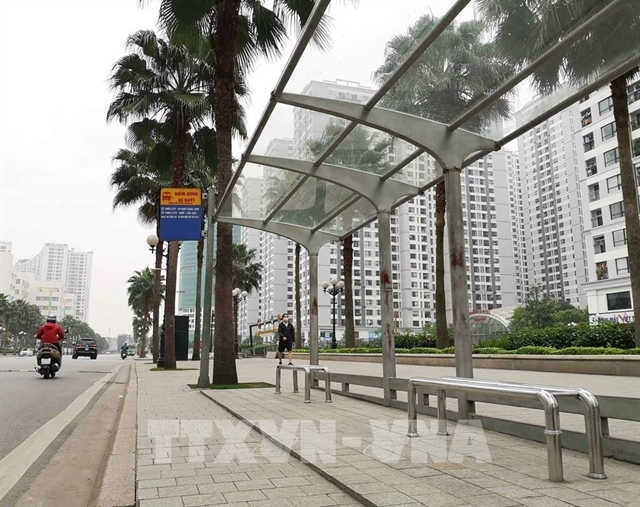 HN has only 10 per cent bus stops with roof