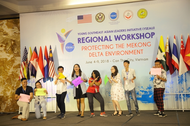 U.S. Department of State launches new YSEALI Academy at Fulbright University Vietnam