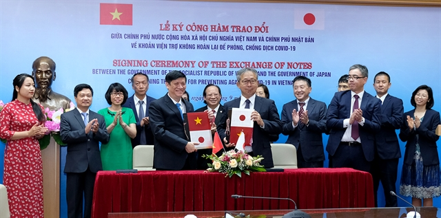 Japan provides Vietnamese hospitals 18 milllion in COVID-19 aid