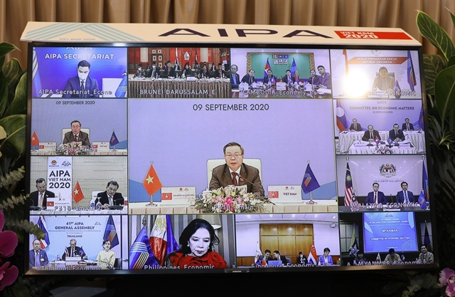 ASEAN parliaments work together for post-pandemic economic recovery
