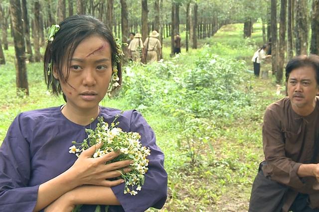 Moviestar Ánh plays leading roleinTVseries aboutfarmersin the 1940s