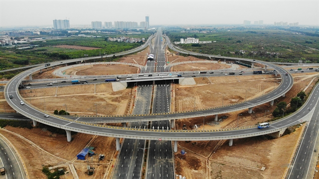 Interchange connecting Belt Road No. 3 Hà Nội-Hải Phòng Expressway inaugurated