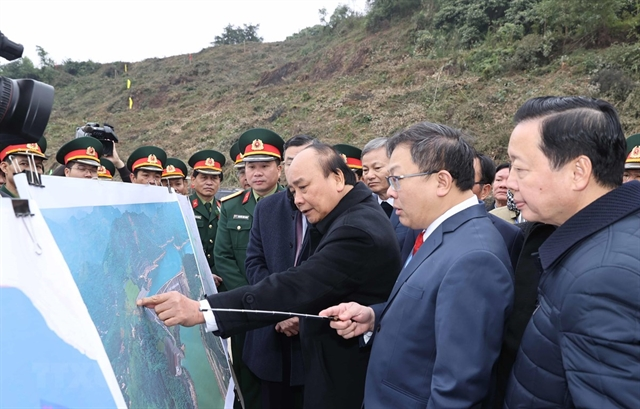 Construction of Hòa Bình hydropowers expansion project plant kicks off