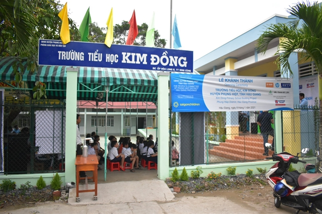Poor district in Mekong Delta province gets new primary school