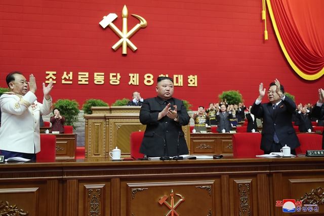 Top leader congratulates newly-elected General Secretary of Workers Party of Korea