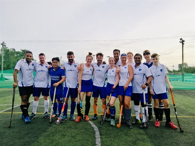 Dutch hockey fanatic finds a homein Việt Nam