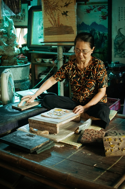 Life and times of a Đông Hồ artist
